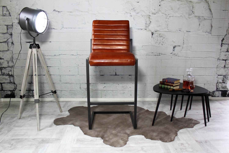 Künstlerisch Büffelleder Stuhl Dekoration Von George Büffelleder